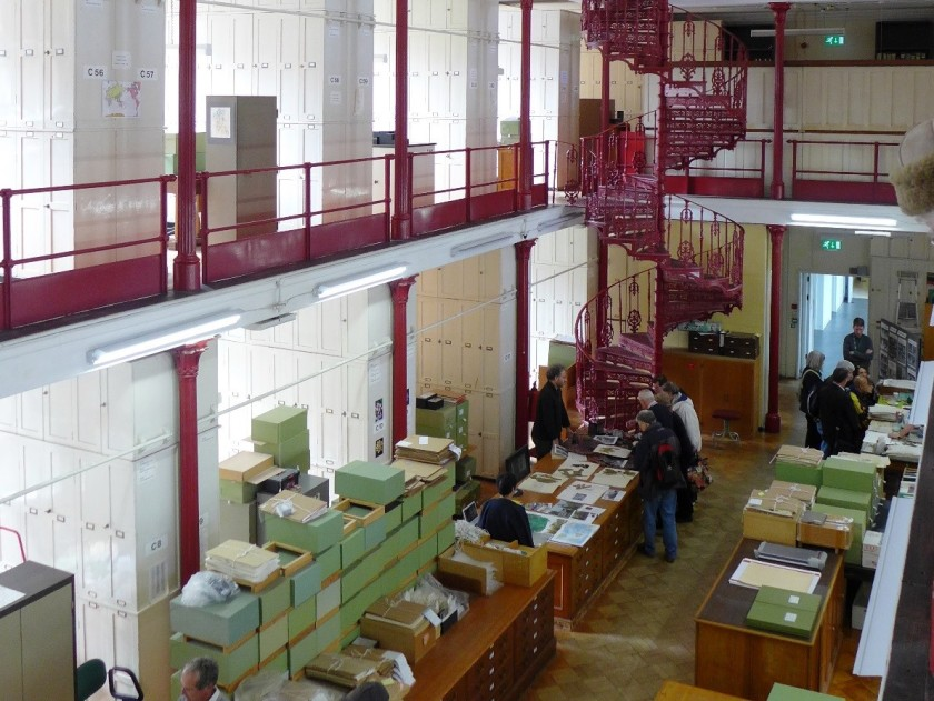 Just a small fraction of Kew's 7 million of herbarium specimens